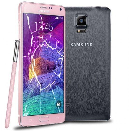 Reprise écran cassé Galaxy Note 4 Rachat écran casse Samsung Note4