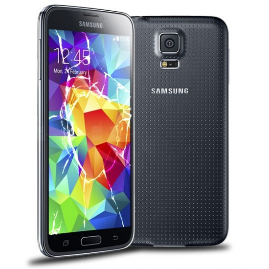 Reprise écran cassé LCD Galaxy S5 Rachat écran casse Samsung Galaxy S5