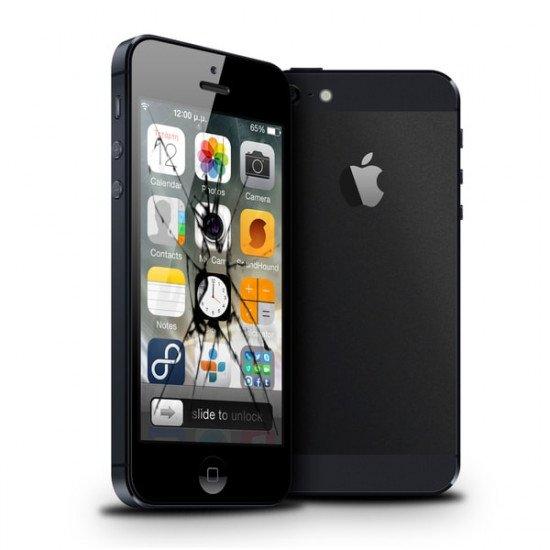 Reprise écran cassé LCD iPhone 5 original Rachat écran casse iPhone 5