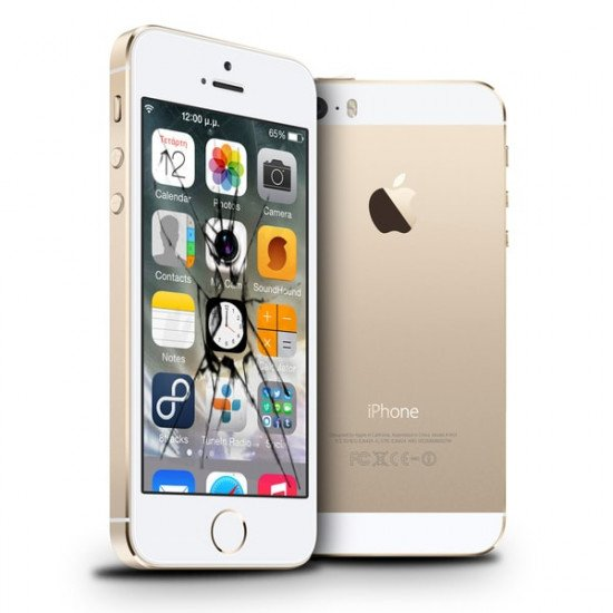 Reprise écran casse LCD iPhone 5S original Rachat écran cassé iPhone 5S