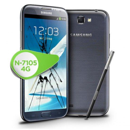 Reprise écran LCD Galaxy Note 2 4G Rachat écran casse Samsung Note 2 4G